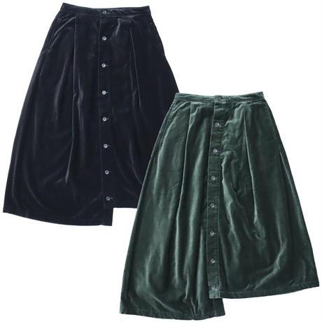 "Ladies' /ENGINEERED GARMENTS(レディース エンジニアード ガーメンツ)""Tuck Skirt - Cotton Velveteen"""