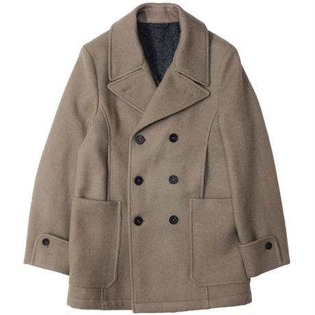 "S.E.H KELLY(エスイーエイチケリー)""SOMERSET FOX HEAVY WORSTED OVERCOATING PEA COAT"""