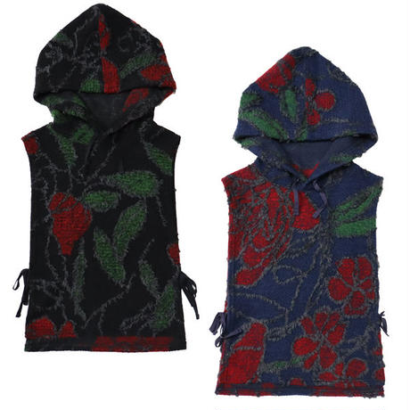"ENGINEERED GARMENTS(エンジニアード ガーメンツ)""Hooded Interliner - Floral Knit Jacguard"""