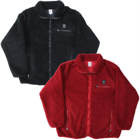 """South2 West8 (サウスツーウエストエイト)""""Piping Jacket - Synthetic Pile"""""""