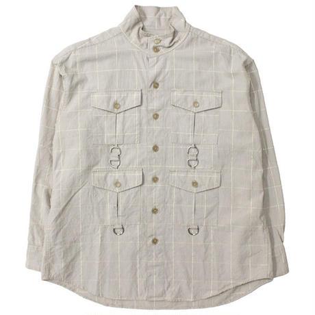 """AiE(エーアイイー)""""SCD Shirt - Lurex Check"""""""