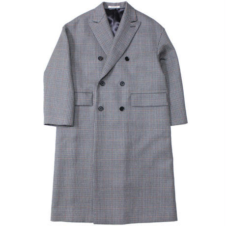 "Ladies' /AURALEE(レディース オーラリー)""DOUBLE FACE CHECK DOUBLE-BREASTED COAT"""