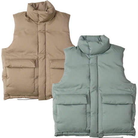 "AURALEE(オーラリー)""LIGHT FINX POLYESTER DOWN VEST"""