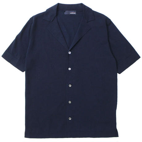 "LARDINI(ラルディーニ)""Cotton Milan Ribs Shirt"""