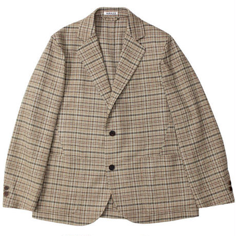 "AURALEE(オーラリー)""SILK SUMMER TWEED JACKET"""