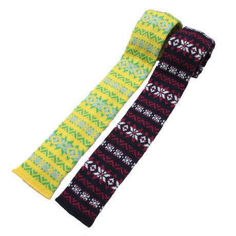 "ENGINEERED GARMENTS(エンジニアード ガーメンツ)""Knit Tie - Fairisle"""