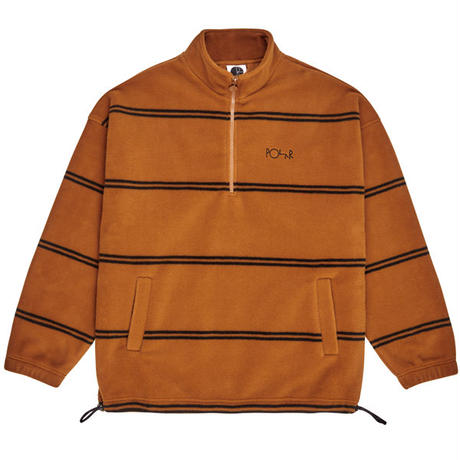 "POLAR SKATE CO.(ポーラー スケート カンパニー)""Striped Fleece Pullover 2.0"""