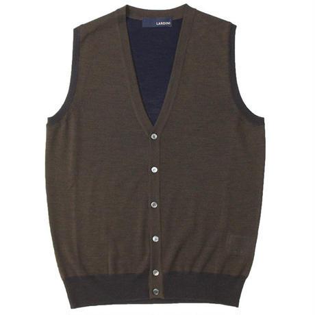 "LARDINI(ラルディーニ)""Wool Knit Vest"