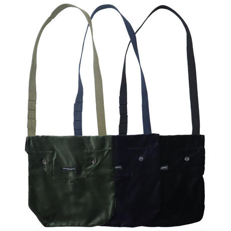 "ENGINEERED GARMENTS(エンジニアード ガーメンツ)""Shoulder Pouch - Cotton Velveteen"""