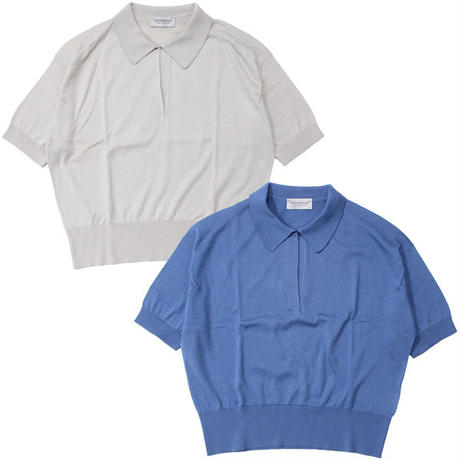 "Ladies' /JOHN SMEDLEY(レディース ジョンスメドレー)""S4296 - WOMEN SHIRT SS OPEN SPORTS COLLAR"""