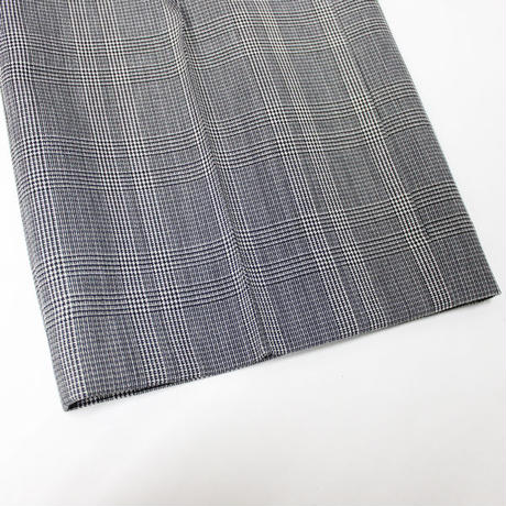 "Ladies' /AURALEE(レディース オーラリー)""SUMMER WOOL GLEN CHECK SLACKS"""