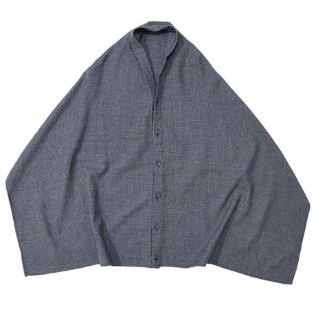 "ENGINEERED GARMENTS(エンジニアードガーメンツ)""Button Shawl - Glen Plaid Houndstooth"""