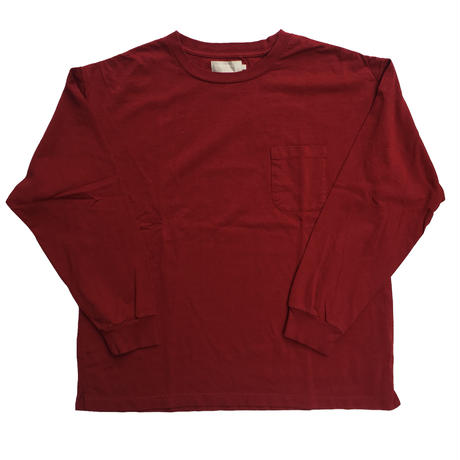 "GOOD OL' ""A LONG TEE"" BURGUNDY"