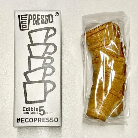 (業務用)チョコ味化粧箱入りグルテンフリーエコプレッソ一箱(5個入り)X28箱(合計140個)