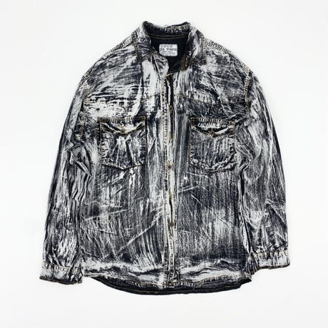 "Print Waterwall Shirt ""Made in Paris"""