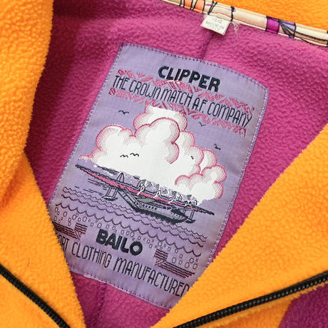 "Vintage Euro H/Z Fleece Pullover ""Made in Italy"""