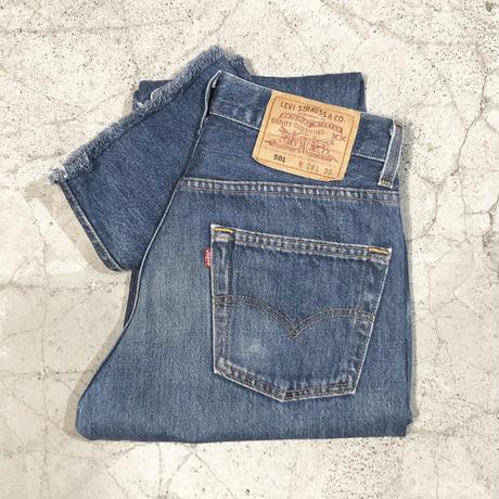 Vintage Levi's 501 Fringe Jeans