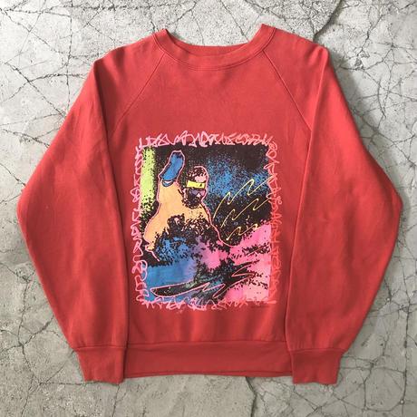 【MENS】80's OP Snowboard Print Sweat