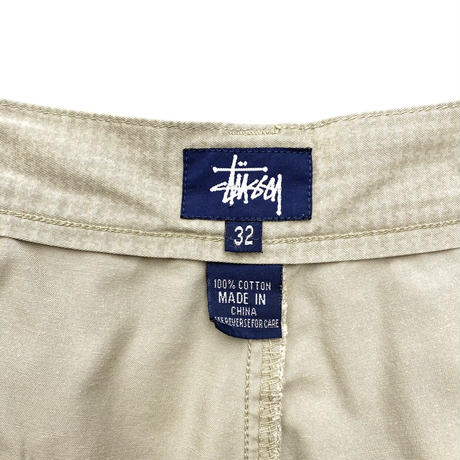 """Old Stussy Cargo Shorts """"Throwing Stars"""""""