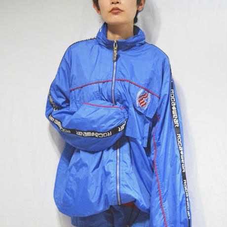 【WOMENS】90's ROCAWEAR Volume Nylon Jacket