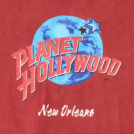 90's PLANET HOLLYWOOD