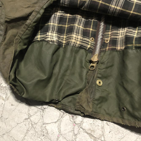 "Vintage Barbour Oiled Jacket ""BORDER"""