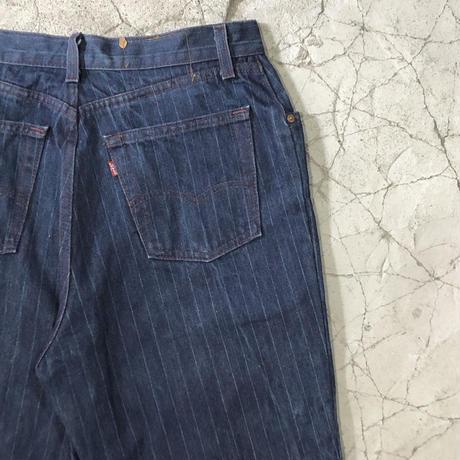 【MENS】80's Vintage Levi's Stripe Jeans
