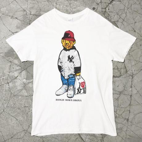 00's NYC Bear Print Tee