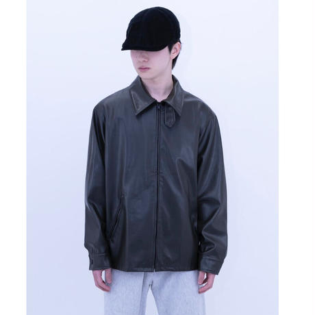 """Agnes b Leather Jacket """"Made in France"""""""