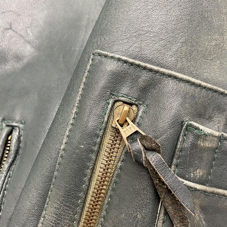 Vintage German Flight Leather Jacket