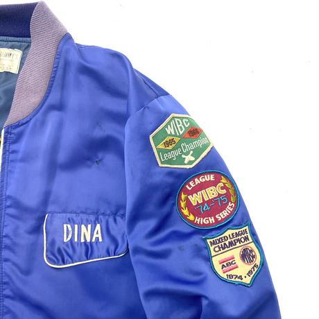 Vintage Satin Souvenir Jacket