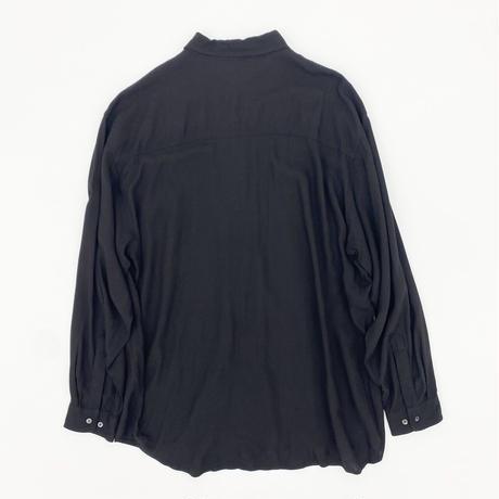 Rayon Over Black Shirt