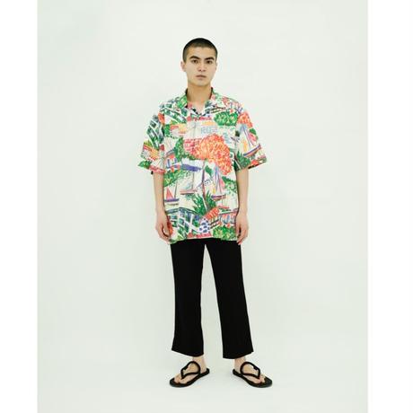Ralph Lauren Brush Write Hawaiian Shirt