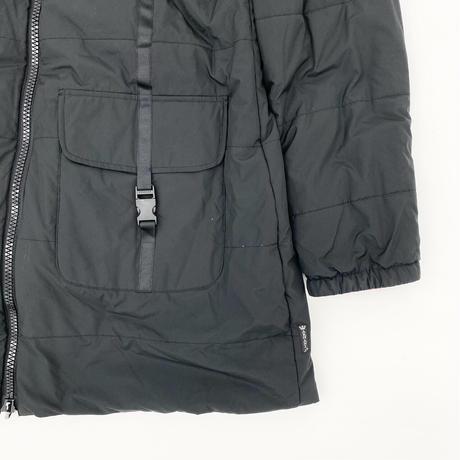 GIORGIO ARMANI Stripe Middle Reversible Coat