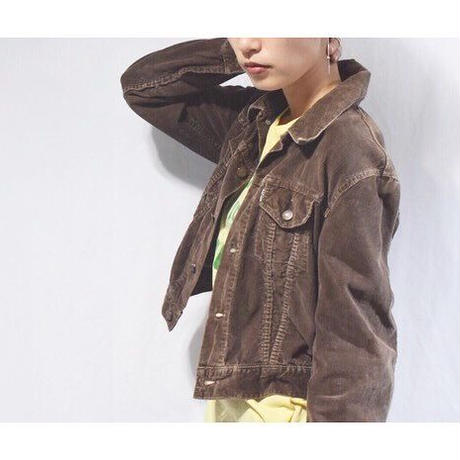 【WOMENS】70's Levi's Corduroy Jacket Big-E