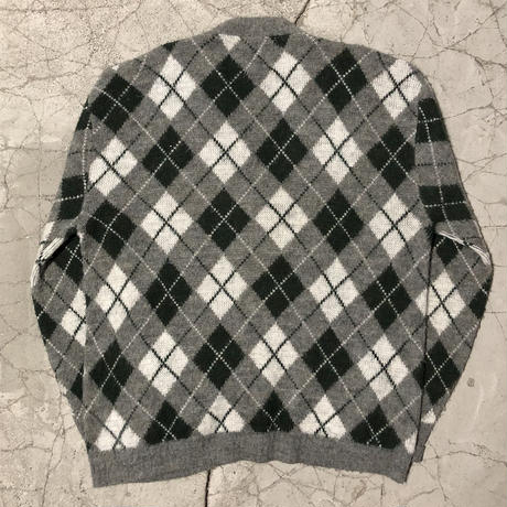 60's Vintage ARROW Argyle Cardigan
