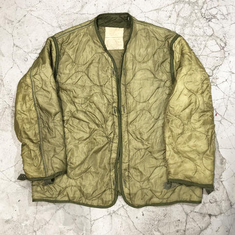 70's U.S.ARMY Quilting Liner Jacket