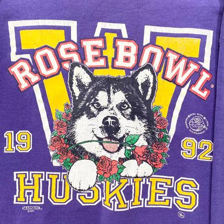 """Rose Bowl Husky"" Print Sweat"