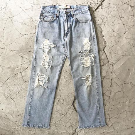 Levi's 505 Clash Fringe Jeans