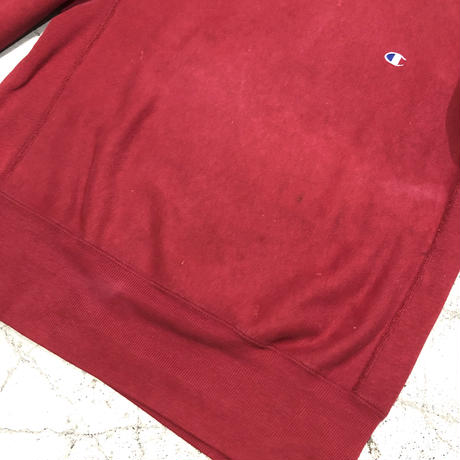 "90's Champion Reverse Weave ""Raspberry"""