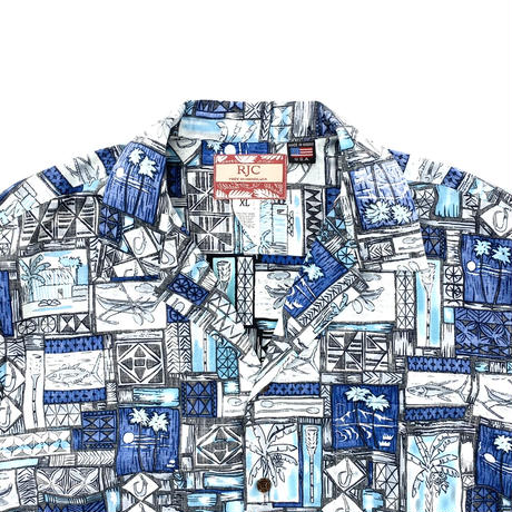 "Open Coller Hawaiian Shirt ""Deadstock"""