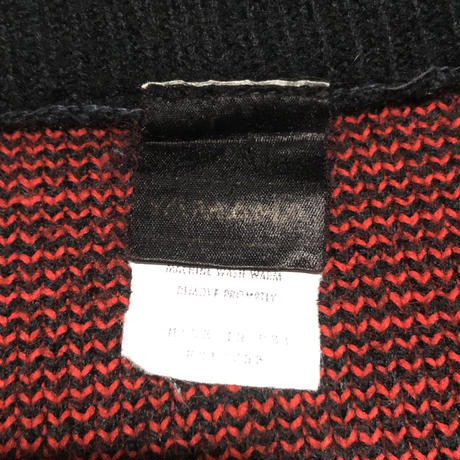 "Vintage Racing Knit ""YAMAHA"""