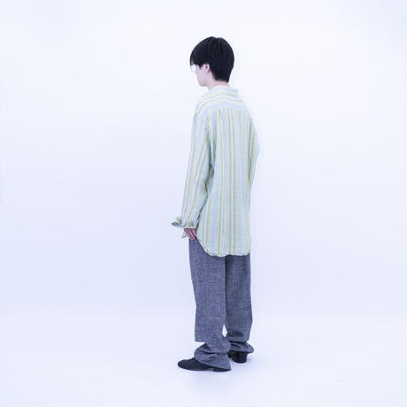 """Stripe Linen Shirt """"Made in Italy"""""""