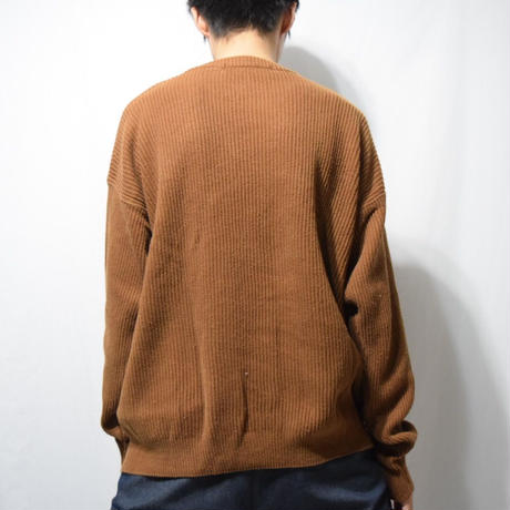 LANDS END Vintage Cotton Knit