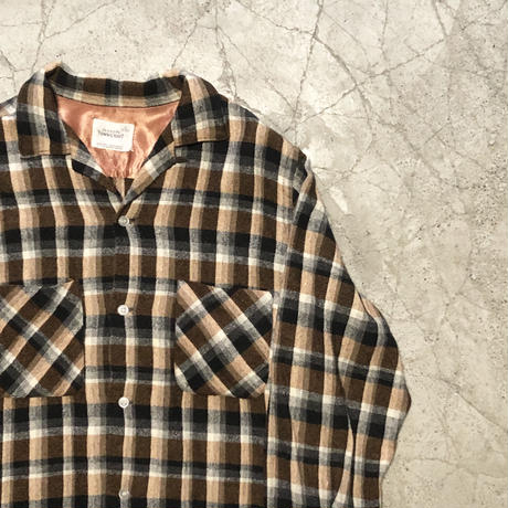 Vintage Town Craft Wool Check Shirt