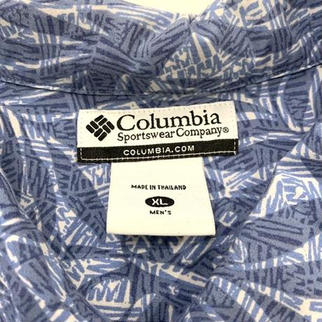 """ Columbia "" S/S  patterned shirts"