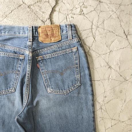 【WOMENS】90's Vintage Levi's  High Waist Blue Jeans