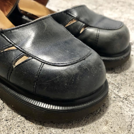 Dr.Martens Strap Leather Shoes Made in ENGLAND