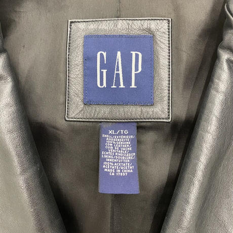 Old Gap Leather Coat