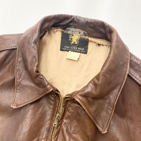 Vintage Flight Leather Jacket Type A-2